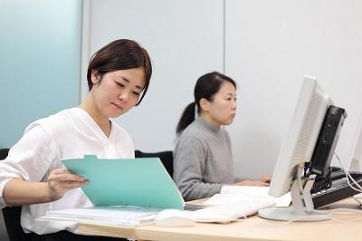 大手教育会社のスタッフサポート業務 データ入力メイン