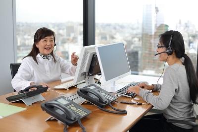 土日祝休み17時迄 大手生保コールセンターの団体保険窓口(受信)