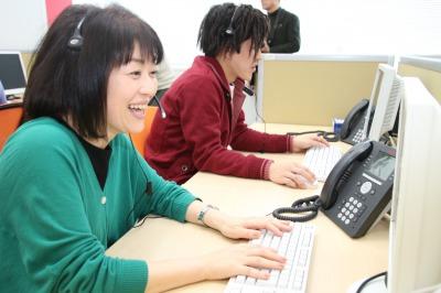月収18万円以上可能 進研ゼミのお問合せ受付(受発信) 札幌B21055
