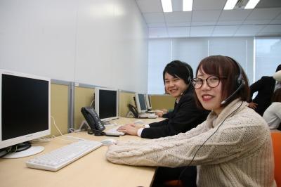 学生さん応援 学校帰りに勤務可能 サイクル・カーシェアリング利用希望者からのお問合せ対応(受信・入力) 札幌DC22522