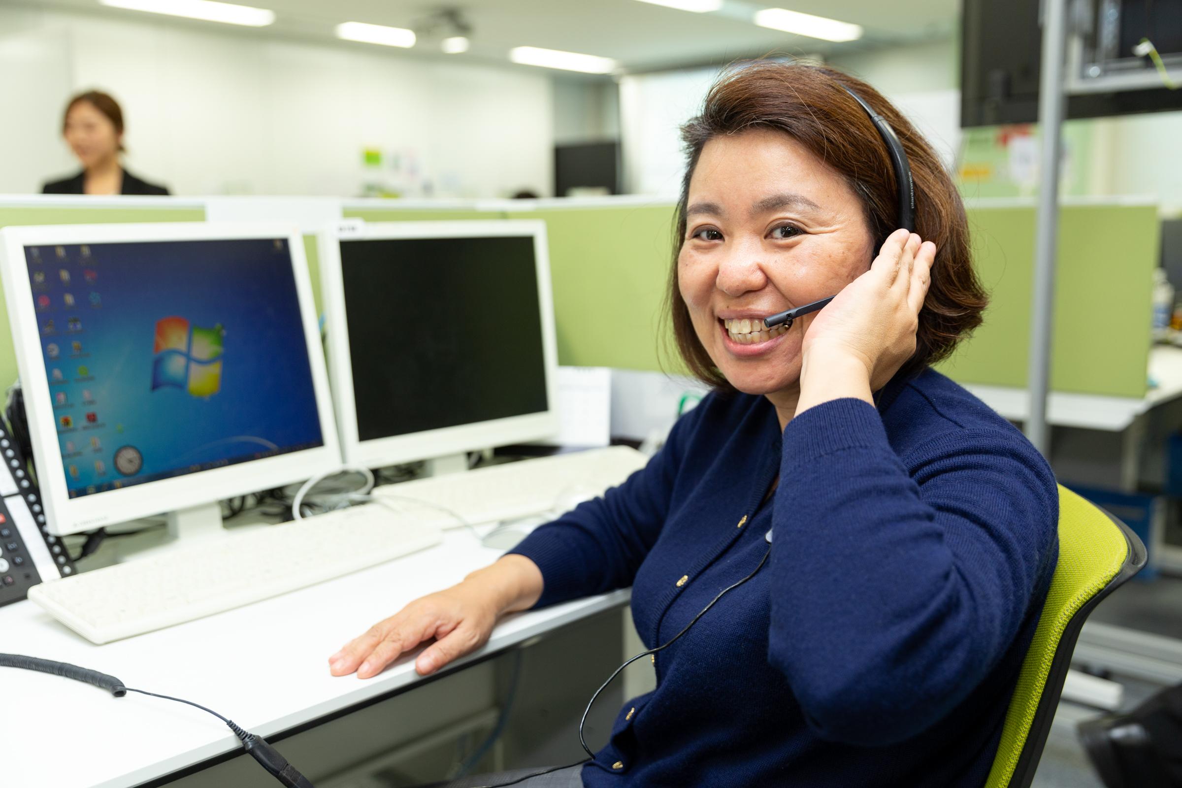 転職者の面談に関する電話発信業務