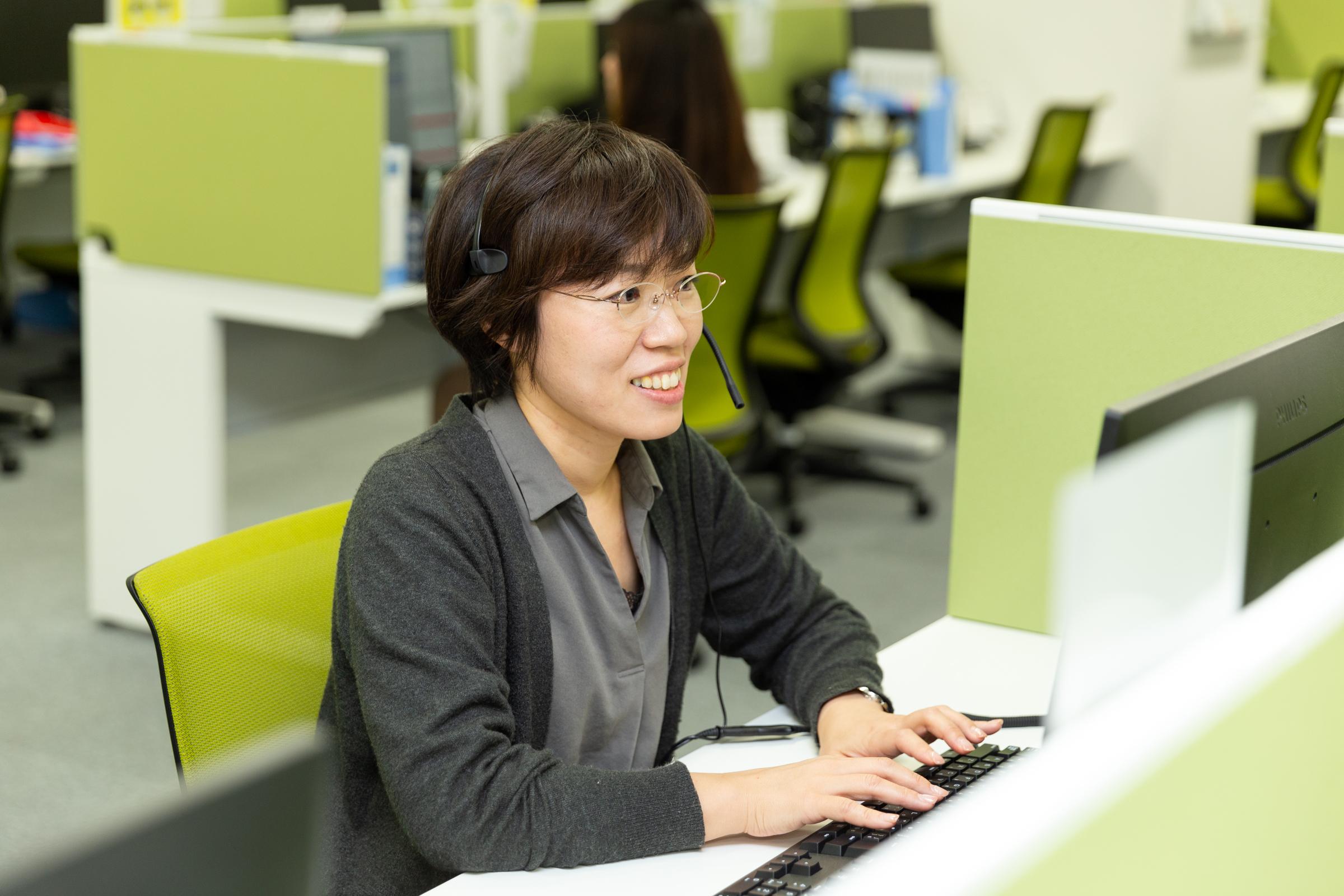 大手転職サイトの求職者サポート事務