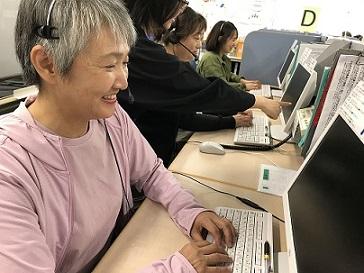 3/8入社 役場内での予約受付窓口業務